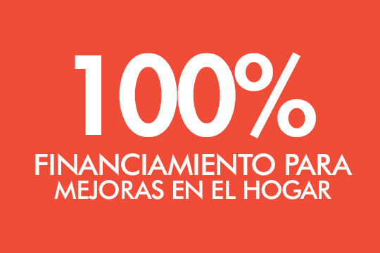 100% Financiamiento