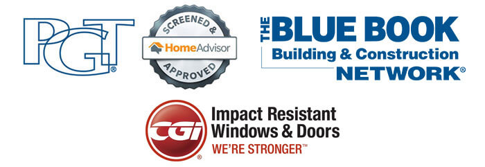 Logos - PGT, Home Advisor, The Blue Book Network, CGI