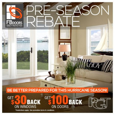 FB Doors Pre Season Rebate 2018