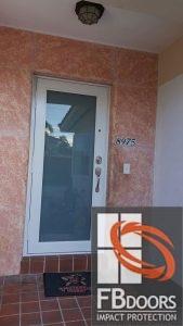 Renovated Door - After