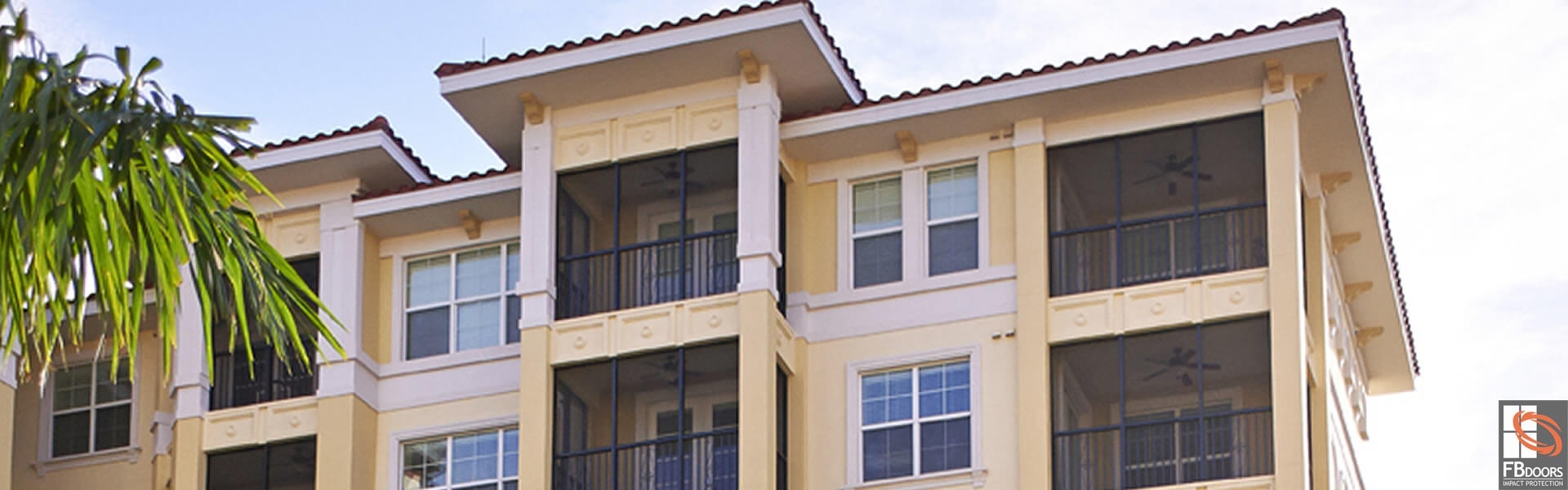 Custom Enclosed Balcony Fb Doors Impact Windows In Florida