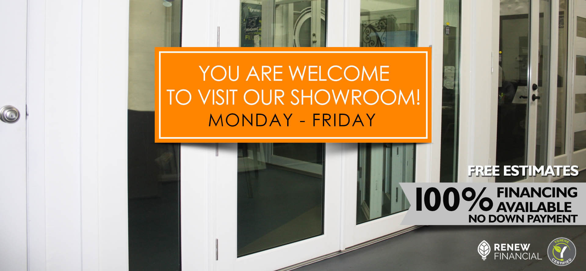 Hurricane Windows Showroom