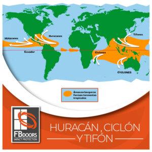 Huracan ciclón tifón