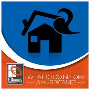 Before hurricane