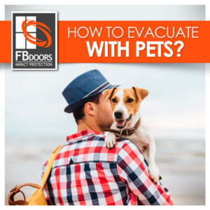 Evacuate with pets