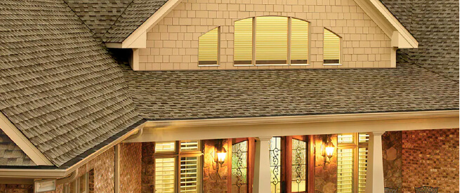 single roofing image